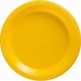Plates-DN-Yellow Sunshine-20pkg-Plastic