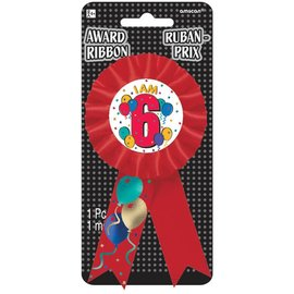 Award Ribbon- I am 6-5.5''