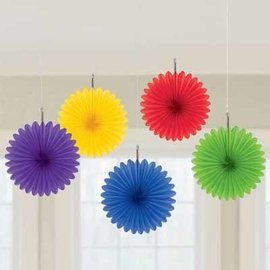 Paper Fan Decoration 5pc