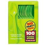 Spoons-Premium-kiwi-Box/100pkg-Plastic