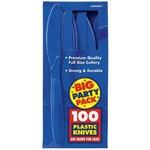 Knives-Premium-Bright Royal Blue-Box/100pkg-Plastic