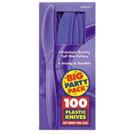 Knives-Premium-New Purple-Box/100pkg-Plastic