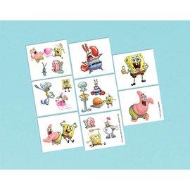 Tattoos-SpongeBob-16pk