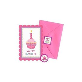Invitations-Sweet Little Cupcake Girl