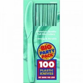 Knives-Premium-Robin's Egg Blue-Box/100pkg-Plastic