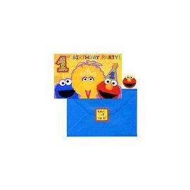Invitations-Sesame Street-20pk (Discontinued)