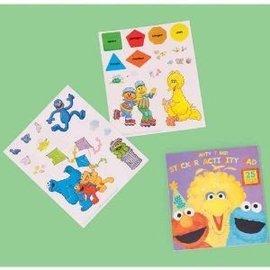 Activity Pad-Stickers-Elmo
