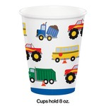 Paper Cups - Traffic Jam - 8oz