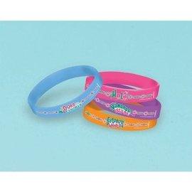 Bracelets-Dora the Explorer-Rubber-4pk