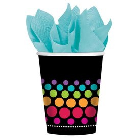 Cups-Party On-Paper-9oz-8pk - Discontinued