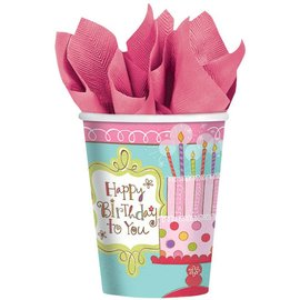 Cups-Sweet Stuff-Paper-9oz-8pk- Final Sale