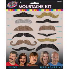 Mustache Kit -Let's Party