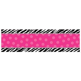 Banner-Personalized-Zebra-65'' x 20''