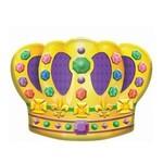 Cutout-Mardi Gras Crown-Plastic-18''x14.5''