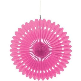 Paper Fan Decor-Pink-16'' (Discontinued)
