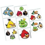 Tattoos-Angry Birds-16pk (Discontinued)