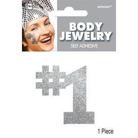 Body Jewelry -#1 -Silver