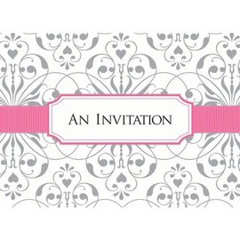 Invitations- Bridal Shower-w/Seal Scroll-8pk