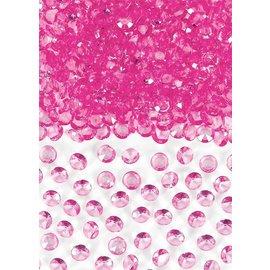 Confetti Gems- Bright Pink