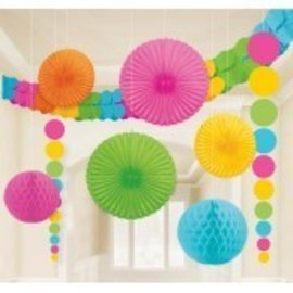 Paper Danglers Decorating Kit 9pc