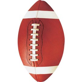 Cutouts-Foot Ball-Value/12pkg-Printed Paper