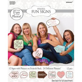 Party Game-Bridal Shower Signs Game