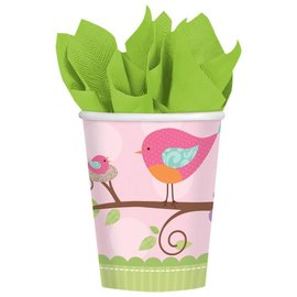 Cups-Tweet Baby Girl-Paper-9oz-8pk - Discontinued