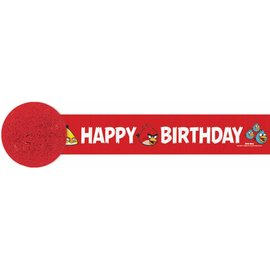 Paper Crepe Streamer-Angry Bird-30Ft  (Discontinued)