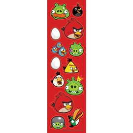 Stickers-Angry Birds-8pk (Discontinued)