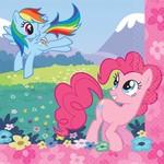 Napkins-BEV-My Little Pony-16pk-2Ply