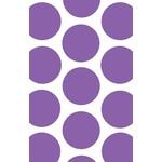 Favour Bags-Dot-Purple-7'' x 4.5''-10pk