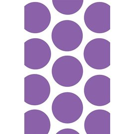 Favour Bags-Dot-Purple-7'' x 4.5''-10pk