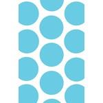 Favour Bag-Dots-Caribbean Blue-7'' x 4.5''-10pk