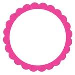 Labels -Pink-20pk/2''