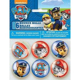 Bounce Ball-Paw Patrol-6pk