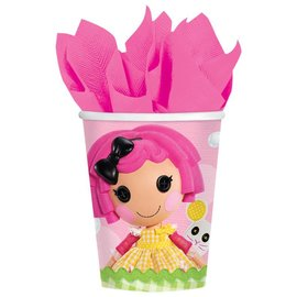 Cups-LALA Loopsy-Paper-9oz-8pk (Discontinued)