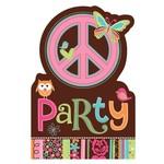 Invitations-Hippie Chick-8pk (Discontinued)