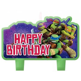 Candles-Ninja Turtles-4pk