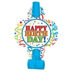 Blowouts- Blue Happy Birthday- 8pk