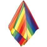 "Costume Accessory-Rainbow Bandana-1pkg-20''x20"""