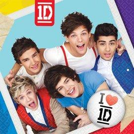 Napkins-LN-One Direction-16pk-2ply