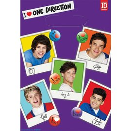 Loot Bags-One Direction-8pk