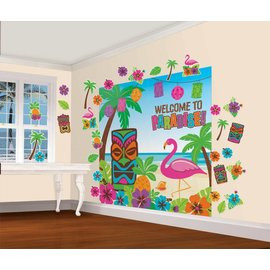 Wall Decor Kit- Tiki Party-Summer Luau
