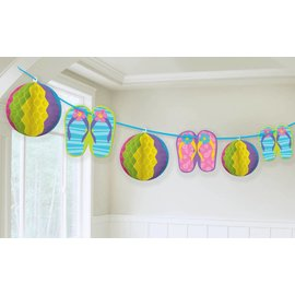 Garland- Summer/Beach Fun-Summer Luau-12ft