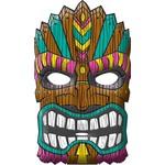 Mask-Vacuform-Summer Luau-11'' x 9''