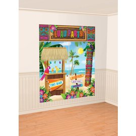 Wall Decor Kit-Tiki-5pk