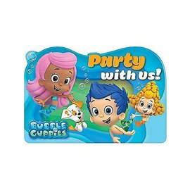 Invitations-Bubble Guppies-8pk