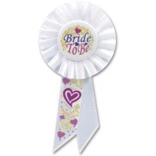 "Award Ribbon-Bride To Be-1pkg-6.5"""