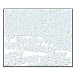 Confetti-Silver Happy Anniversary-14g