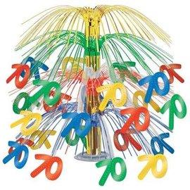 """Centerpiece-Multi-Color Cascade-70th Celebration-1pkg-18"""""""